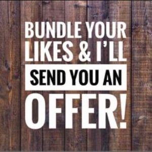 CREATE A BUNDLE AND ILL MAKE YOU AN OFFER!